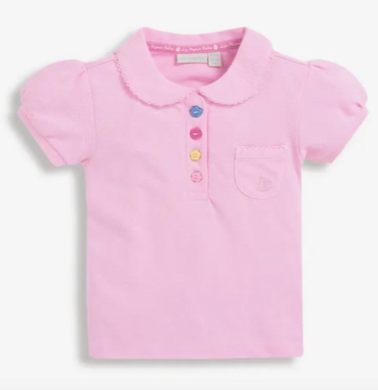 Jo Jo Pink Polo
