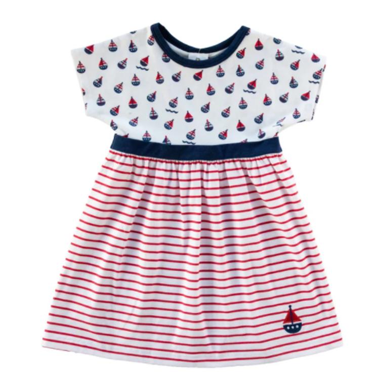 Florence Eiseman Baby Sailboat Dress