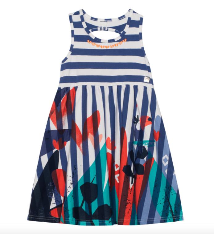 Deux Par Deux Stripe Dress