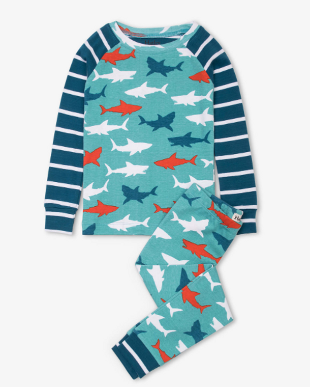 Hatley Great White Organic PJ