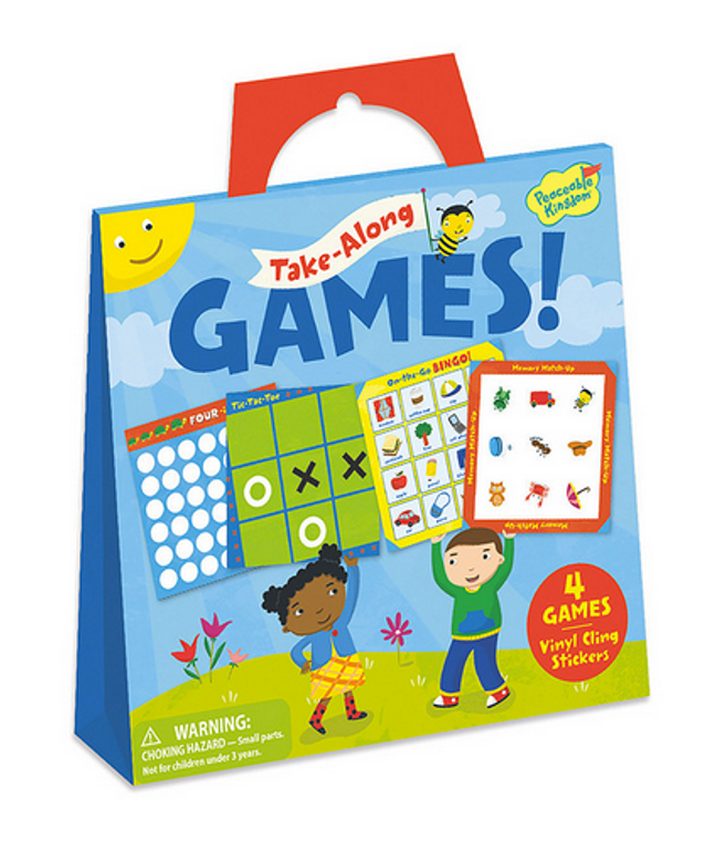 Games Sticker Tote