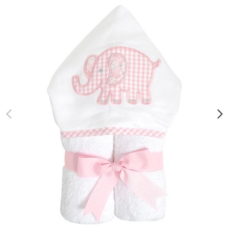 3 Marthas  Pink Elephant  Towel