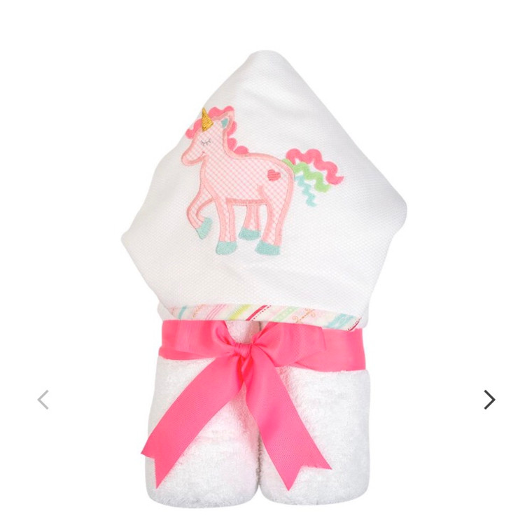 3 Marthas  Pink Unicorn Towel