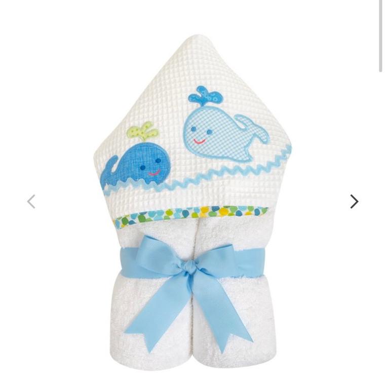 3 Marthas Blue Whale Towel