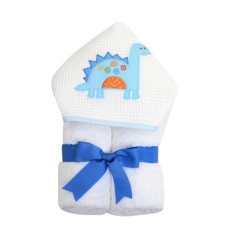 3 Marthas Blue Dinosaur Towel