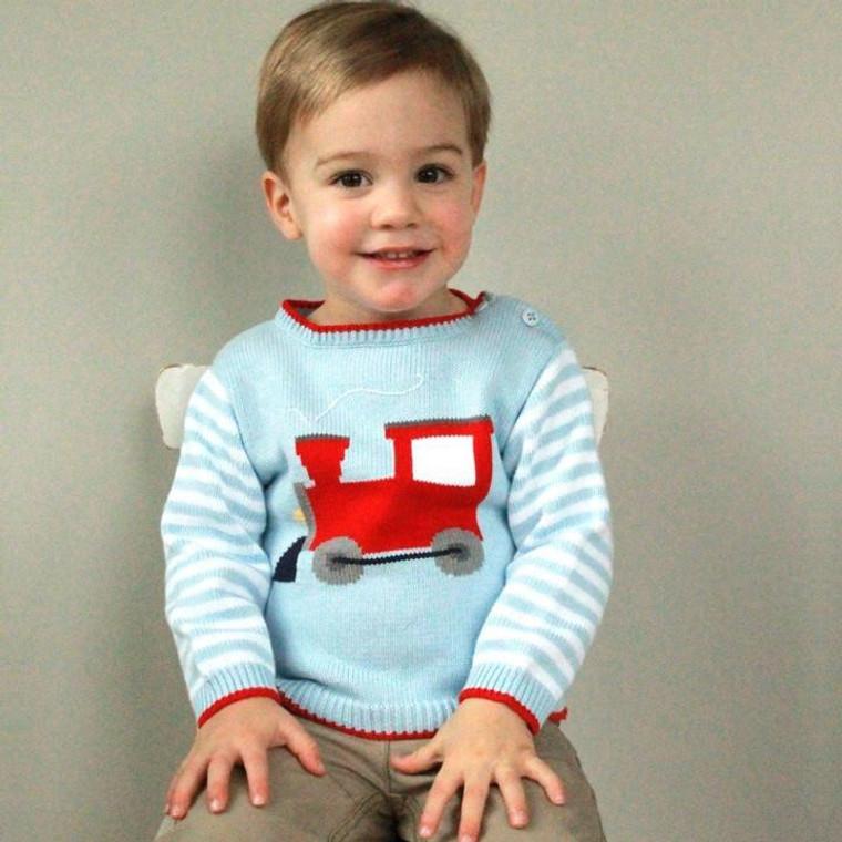 Zubels Train Sweater