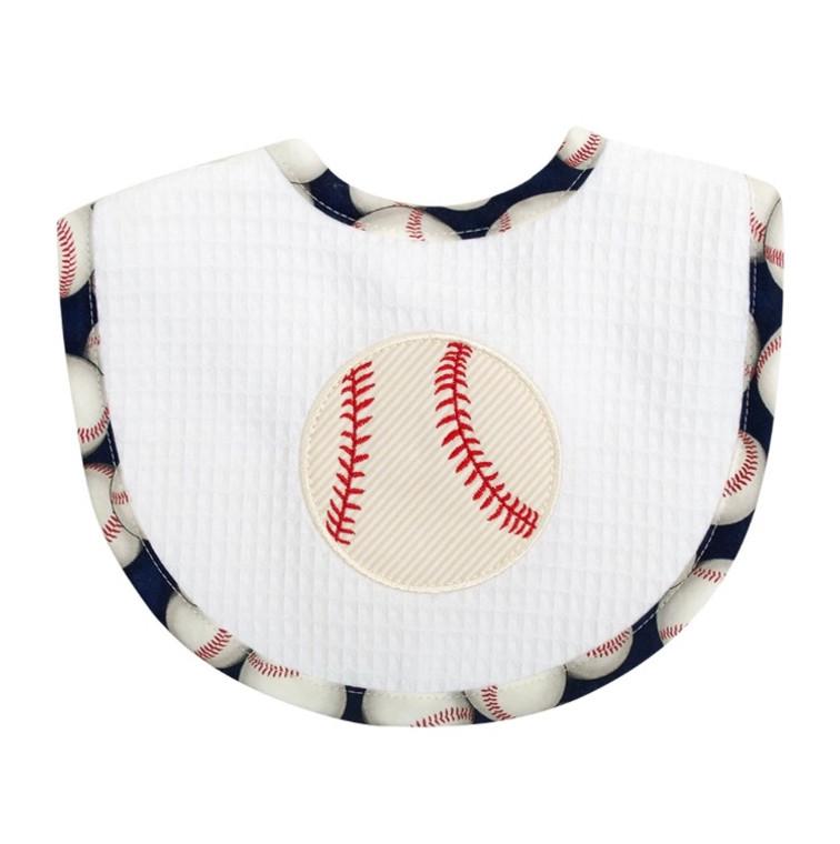 3 Marthas Baseball Terry Bib