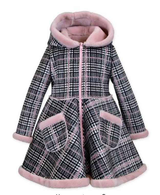 Widgeon Plaid Faux Suede Coat