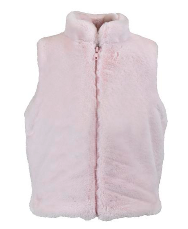 Widgeon Cotton Candy Faux Fur Vest