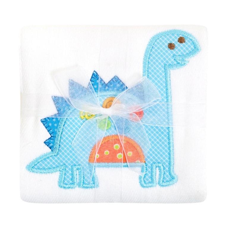 3 Marthas Blue Dinosaur Burp