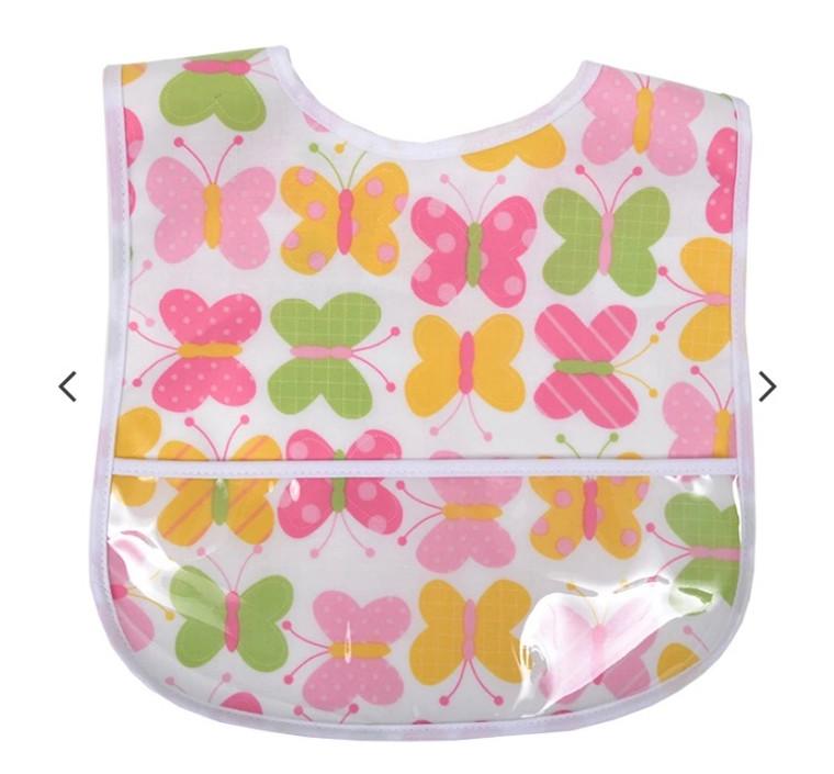 3 Marthas Butterfly Plastic Bib