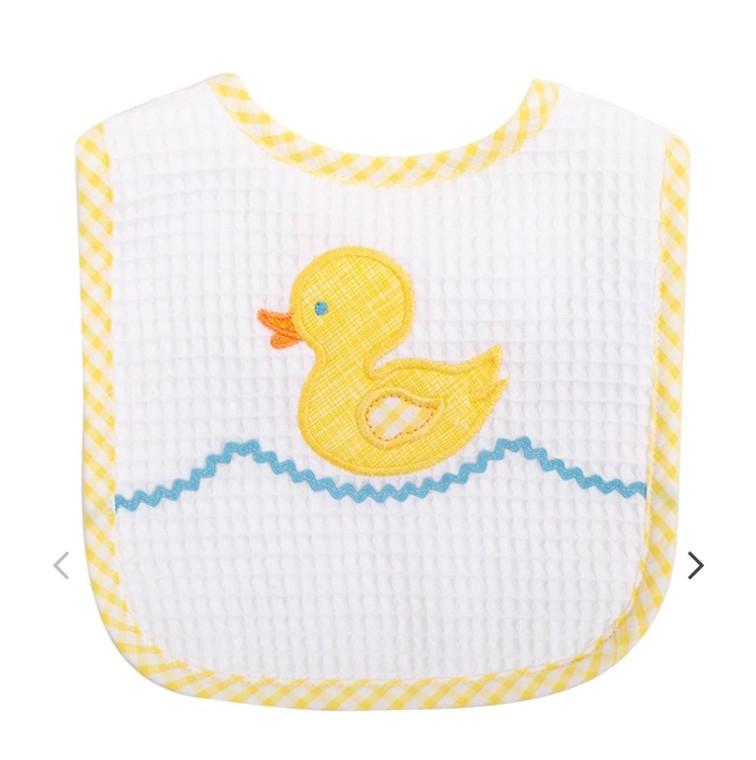 3 Marthas Yellow Duck Bib