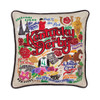 KY Derby Embroidered Pillow