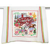 KY Derby Embroidered Tea Towel