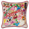 Nut Cracker Hand Embroidered Pillow