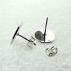 Sterling Silver Engraved Post Earring