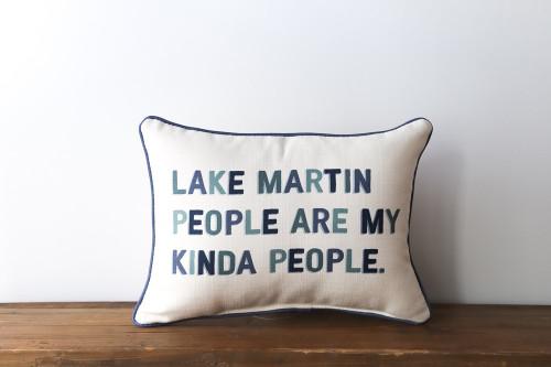Lake People Pillow