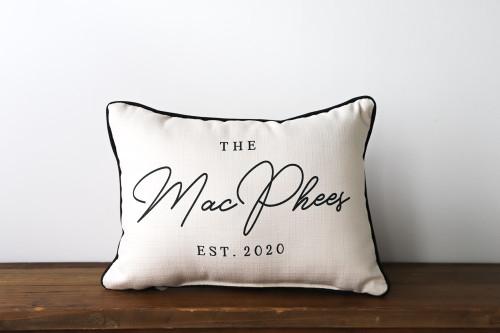 The Family Name Pillow