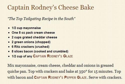 Captain Rodney's Boucan Pepper Glaze