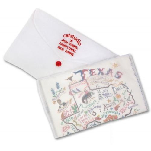 UL Embroidered Tea Towel