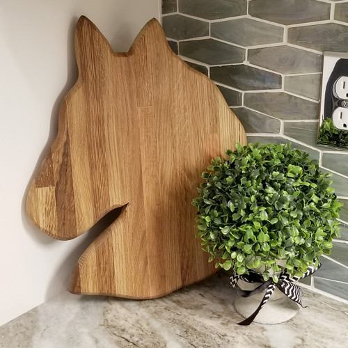 Horse Head Cutting Board