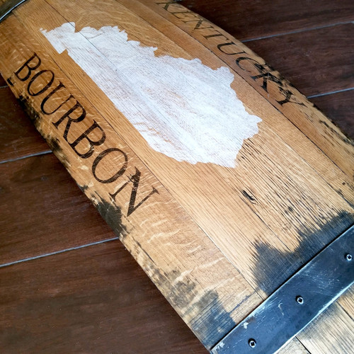 Kentucky Bourbon Barrel Art