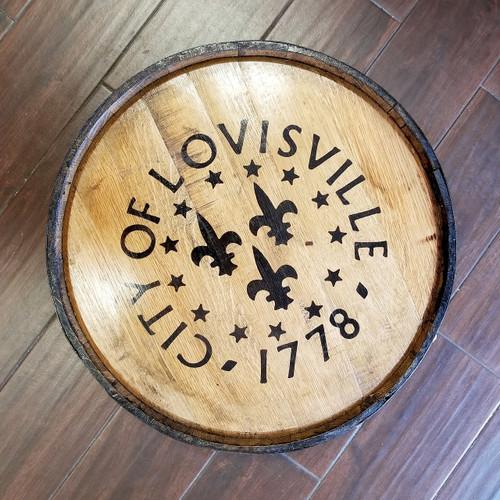 City of Louisville Bourbon Barrel Art