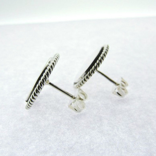 Stud Round Nautical Earring