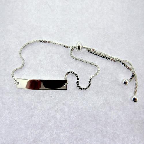 Womens Cinch Knot ID Bracelet