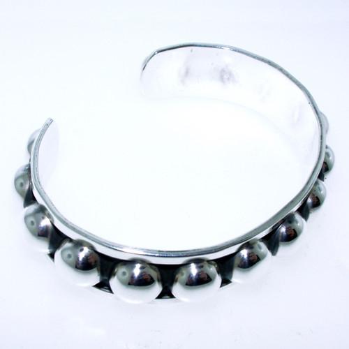 Multi Ball Cuff Bracelet