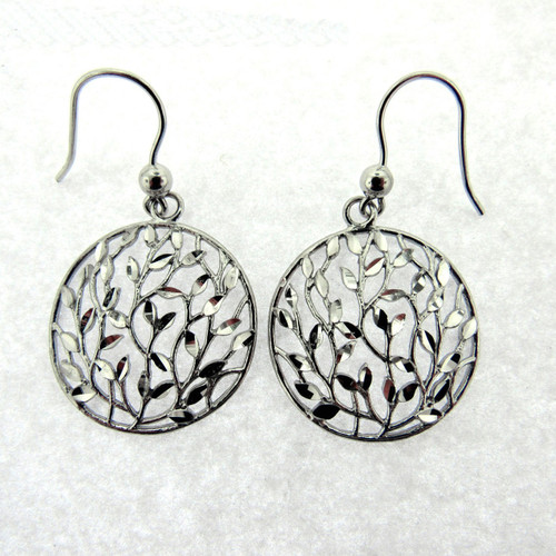 Italian Tree of Life Necklace and Earrings
