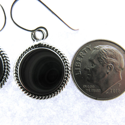 nautical earring with engraving