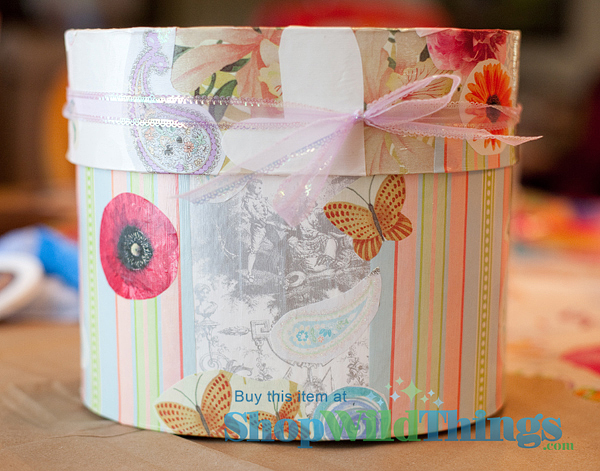 A DIY Shower Gift on a Budget Creating A Keepsake Treasure Box