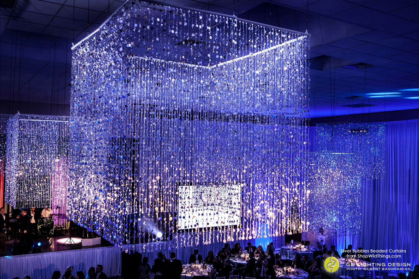 An Amazing Transformation - Bubbles Beaded Curtains
