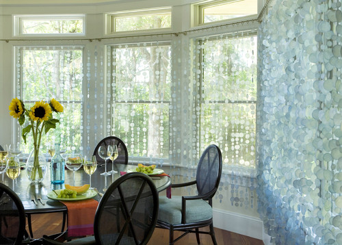 Bead Curtains for Real People|Enhancing a Wedding or a Home on a Budget