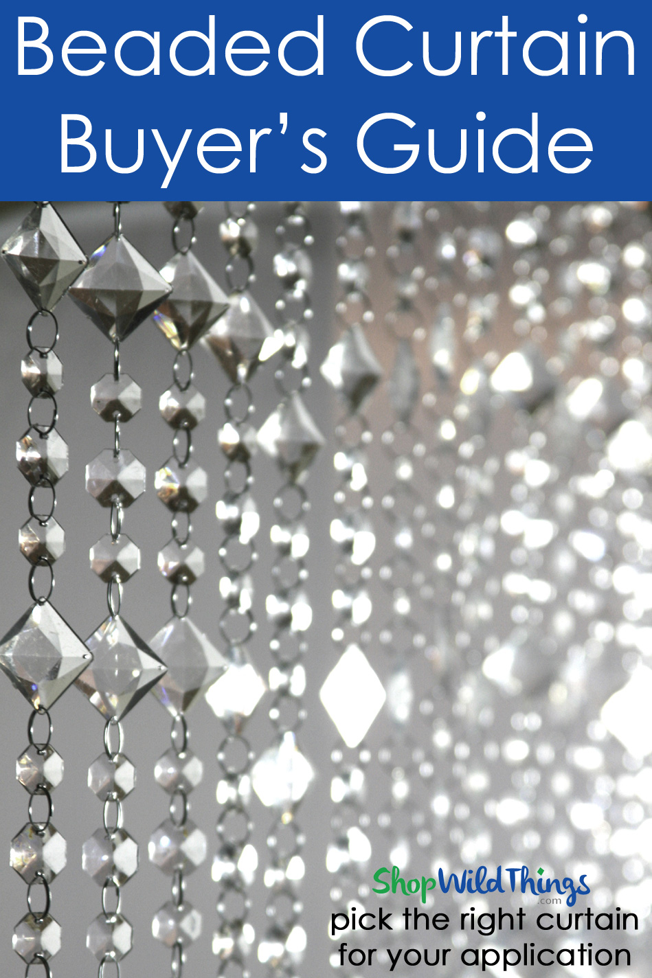 Beaded Curtain Buyer's Guide - How to Choose the Right Beads for Your Project