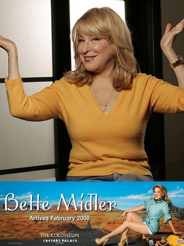 Bette Midler Vegas Show :  The Showgirl Must Go On