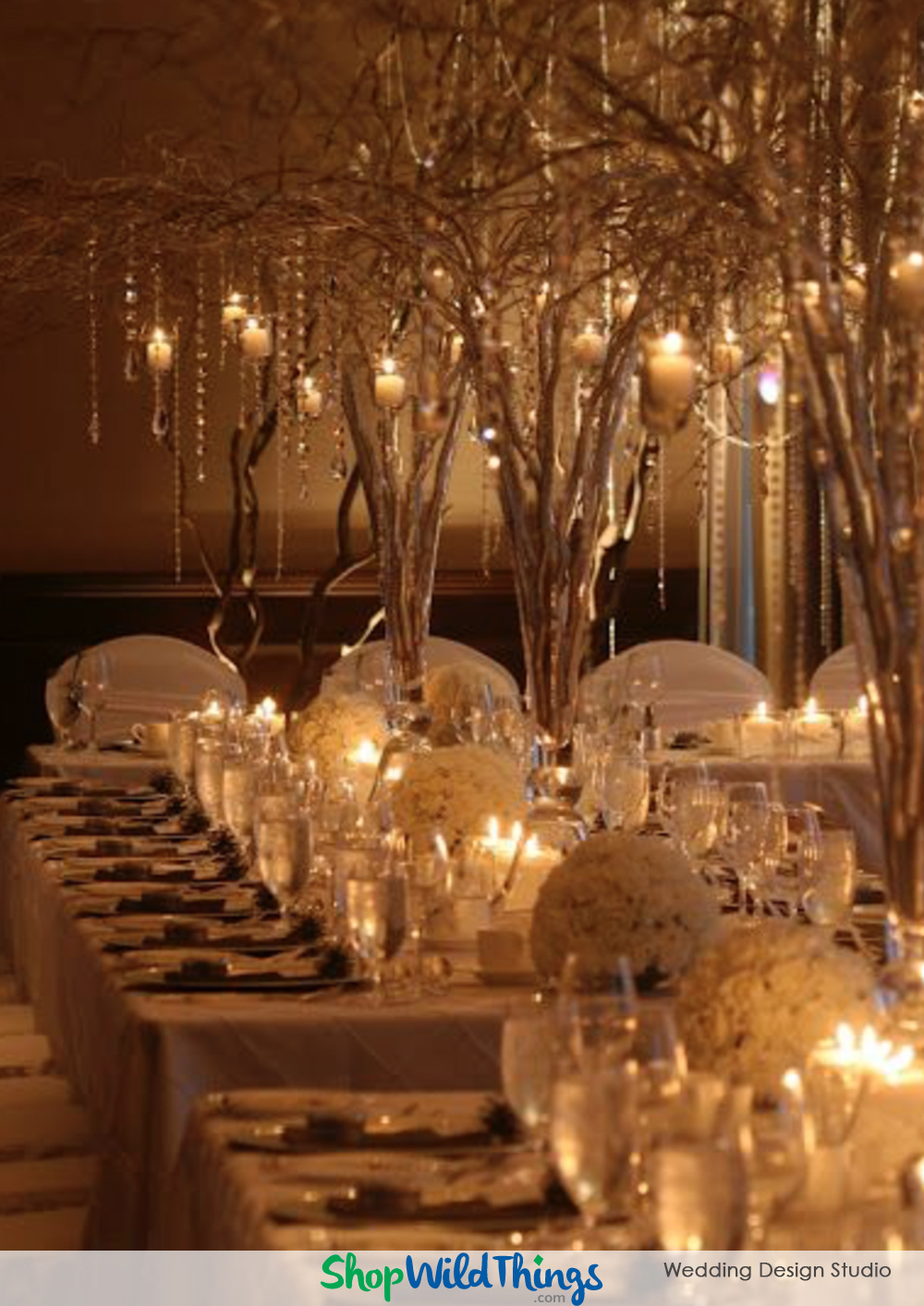 BLOG! Wedding Centerpieces : Vases, Floral Sprays, Candles