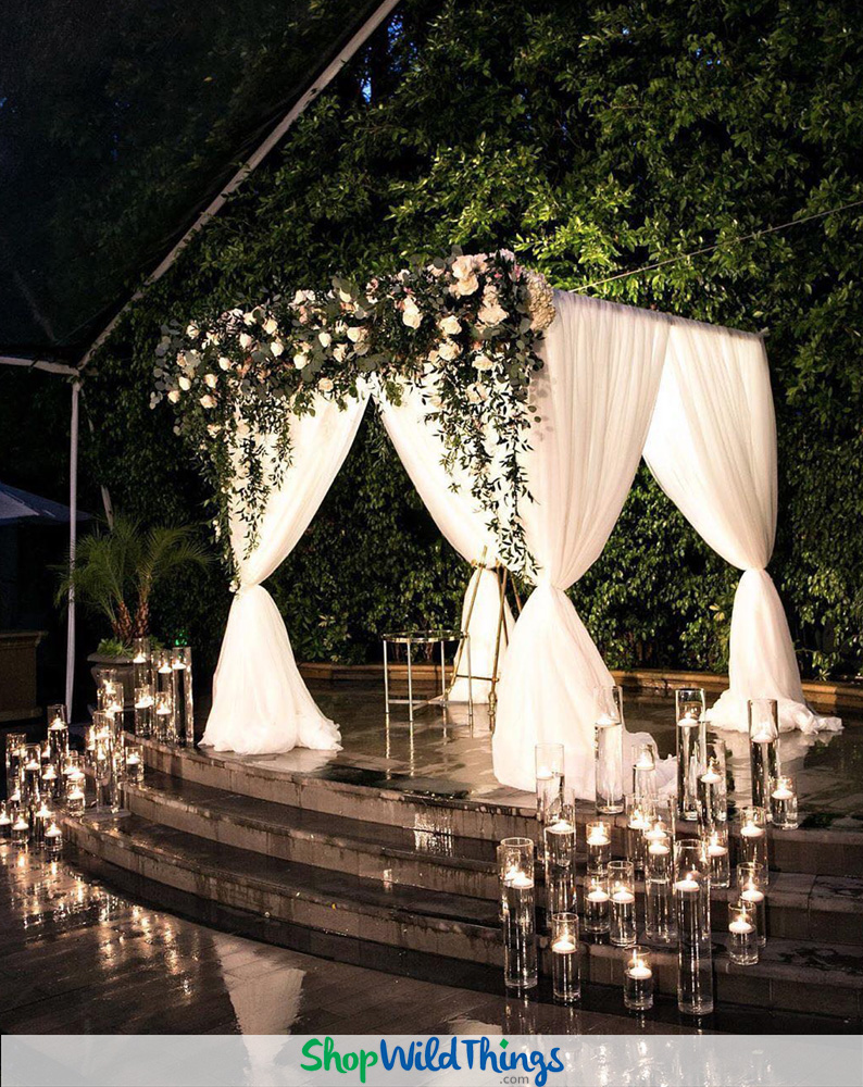 Bring the Outdoors Into Elegant Luxury Weddings and Receptions