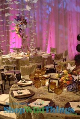 Butterflies ~ Embellishing a Room with Color, Motion and Sparkle