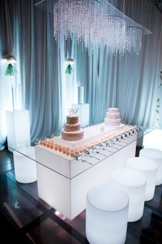 Cake Table Bling|Working Your Decor Dollars