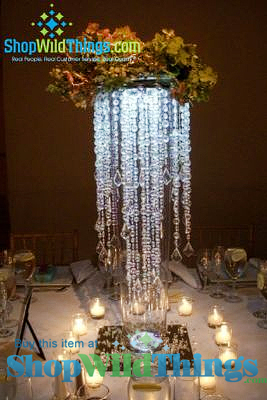 Chandelier Centerpieces | Beautiful, Reusable Bling for Weddings and Events