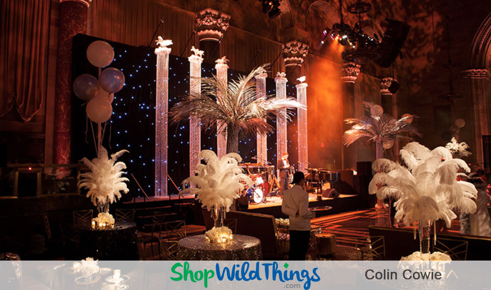 Colin Cowie Wedding Reception Fabulousness with Sustainable Decor