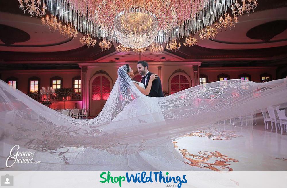 Crystal Beaded Splendor for Luxury Wedding Receptions