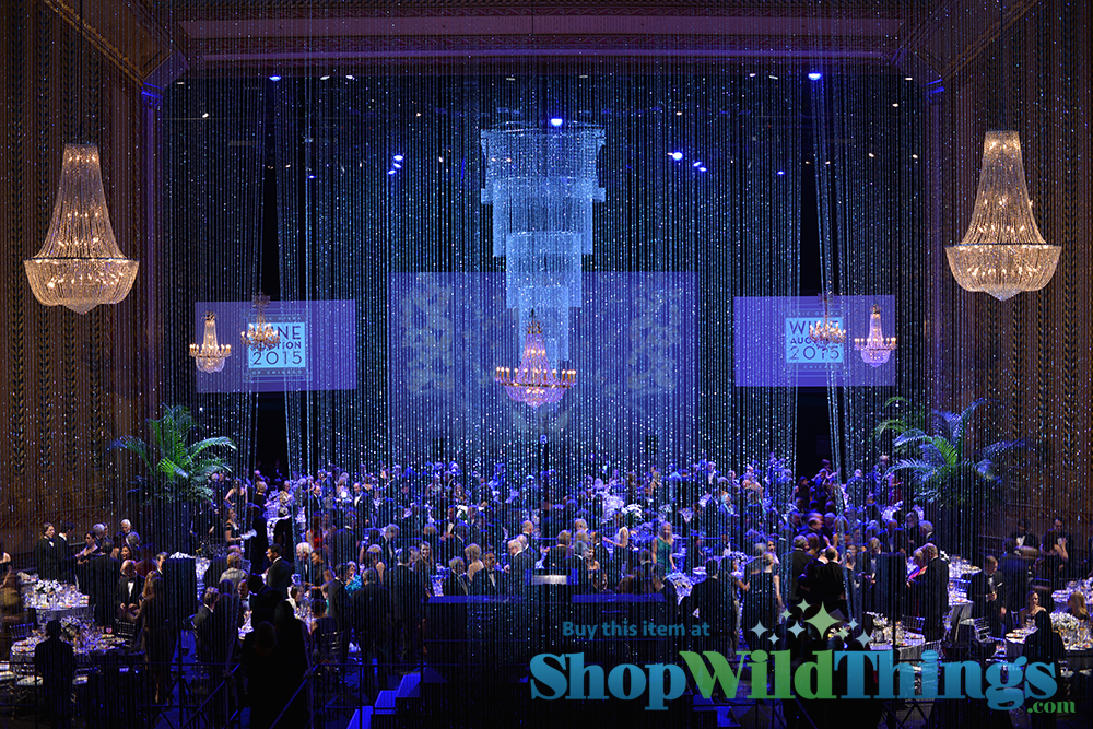 Custom Chandeliers and Beads Bedazzle Patrons at Lyric Opera of Chicago Wine Auction