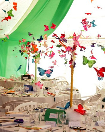 Decorate With Butterflies - Floating Heaven!