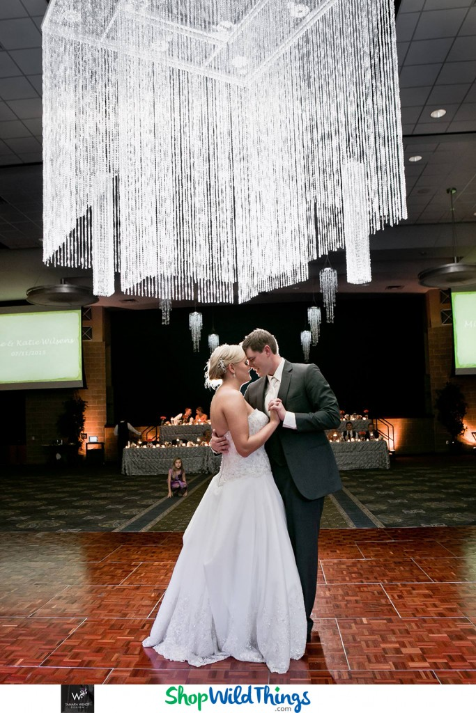 Dramatic Black and White, Bead Intensive Wedding