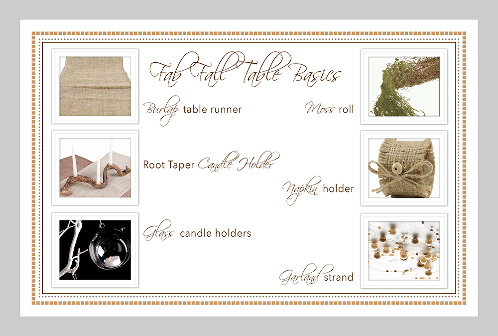 Fabulous Fall Table Basics
