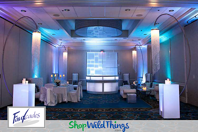 Fabulous Fauxcades|Using Decor Staples at Upscale Events