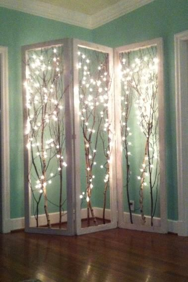 Fairy Lights Transition from Holidays to Everyday